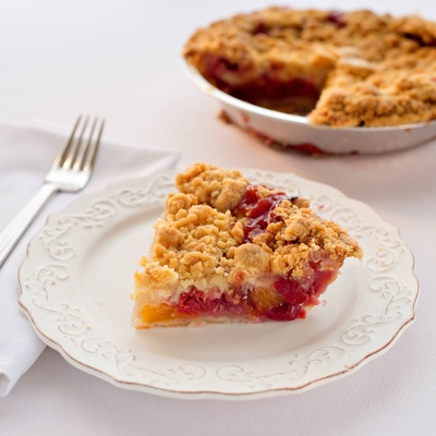 State Theatre Cherry Peach Crumb Pie