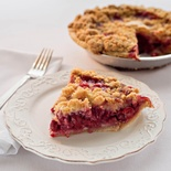 Grand Traverse Cherry Crumb Pie