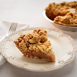 Peninsula Apple Crumb Pie