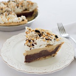 Barb's Chocolate Peanut Butter Cream Pie