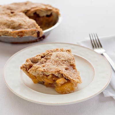 Farmers' Market Peach Pie