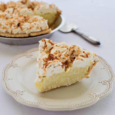 Torch Lake Coconut Cream Pie